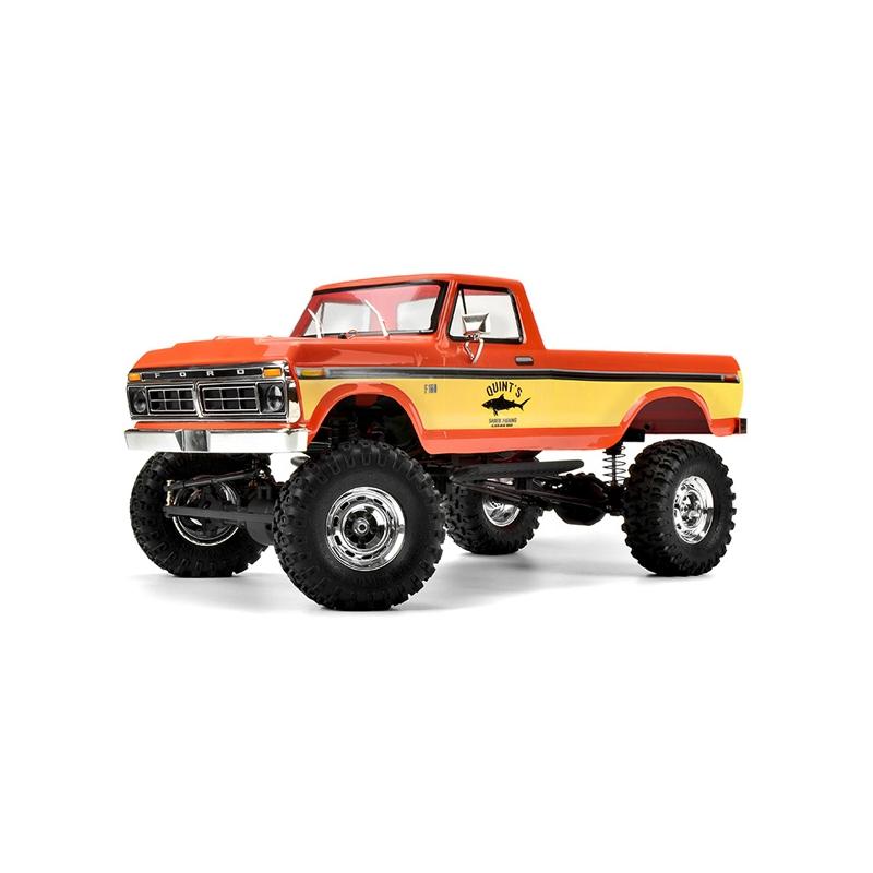 Carisma SCA-1E 1976 FORD F150 truck RTR Red # CARI77868