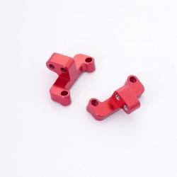 Supports de tirants arrières en aluminium (D G)