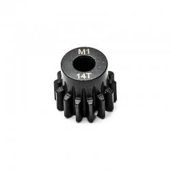 Pignon moteur M1 ø5mm 14 dents en acier