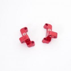 Supports de tirants avants en aluminium (D G)