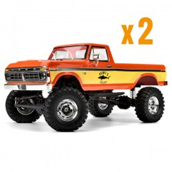 Combo de 2 Crawlers SCA-1E FORD f-150 rouge