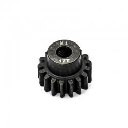 Pignon moteur M1 ø5mm 17 dents en acier