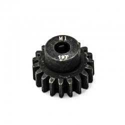 Pignon moteur M1 ø5mm 19 dents en acier