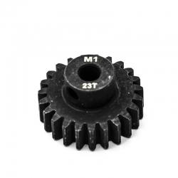 Pignon moteur M1 ø5mm 23 dents en acier