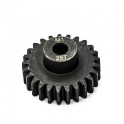 Pignon moteur M1 ø5mm 25 dents en acier