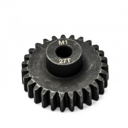 Pignon moteur M1 ø5mm 27 dents en acier