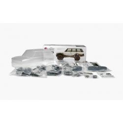 Kit à monter Crawler 1/10ème SCA-1E RANGE ROVER + roues