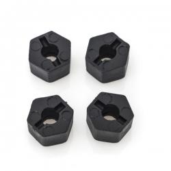 Hexagone de roue en plastique CRX (x4)