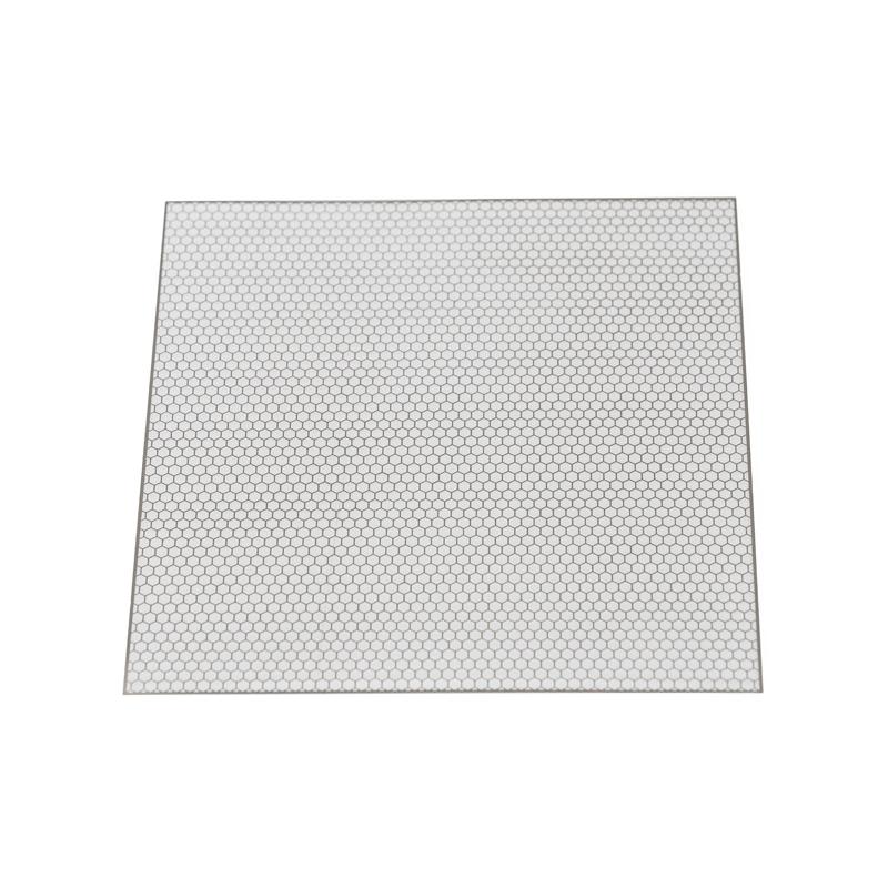 Grille de décoration en métal à découpé 100x100x0.2mm style A