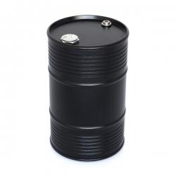 Bidon d'huile en aluminium Noir