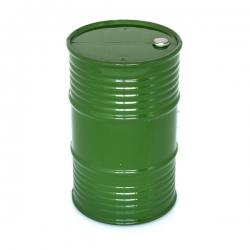 Bidon d'huile en plastique vert