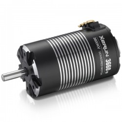 XERUN-3660SD-G2-3600KV-BLACK-5mm+pignon 48dp 23T