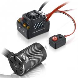 COMBO EZRUN MAX10 SCT 120Amp-3660SL-4600KV+pignon 21dts 48dp