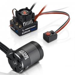COMBO EZRUN MAX10-3652SL-3300KV+adaptateur 5mm