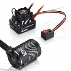 COMBO EZRUN MAX10-3652SL-5400KV+adaptateur 5mm