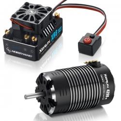 COMBO XERUN XR8 SCT + moteur XERUN 4268SD 1900KV Black G2