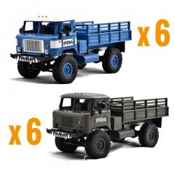 Pack 6  PR4 Bleu et 6  PR4 Vert