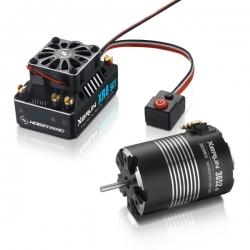 COMBO XERUN XR8 SCT+moteur XERUN 3652SD-3800KV-d  5.0mm