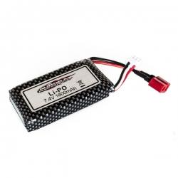 Batterie Li-Po 7,4 V 1600mAh MT-Twin