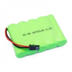 Batterie Ni-MH 6.0V 700mAh CR4/PR4/CR6/Raid