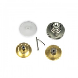Pignonerie et roulement de remplacement pour servo SC-0252MG