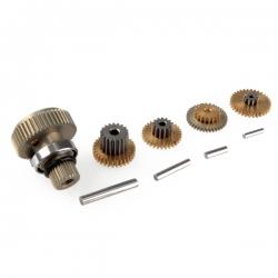 Pignonerie et roulement de remplacement pour servo SC1252MG