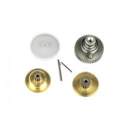 Pignonerie et roulements de remplacement  pour Servo SC1256TG