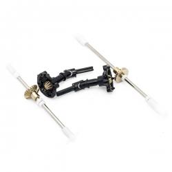 Kit d'arbre de transmission et pignons en métal CR4/PR4