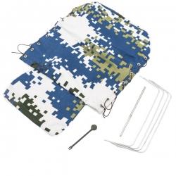 Kit Bache de remorque arrière complète PR4 Bleu