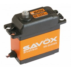 Servo Brushless SAVOX  DIGITAL  42kg / 0,13sec. 7.4V