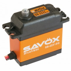 Servo Brushless SAVOX  DIGITAL  40kg / 0,10sec. 7.4V