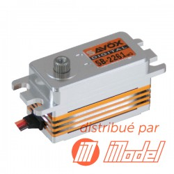 Servo Brushless Low Profil SAVOX  DIGITAL  8kg / 0,076sec. 6V