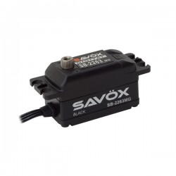 Servo Savox Black Edition digital 10kg 6.0V