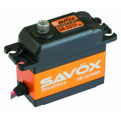 Servo Brushless SAVOX  DIGITAL  25kg / 0,08sec. 7.4V
