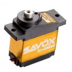 Servo SAVOX MICRO DIGITAL 3.9kg-0.13s pignons metal