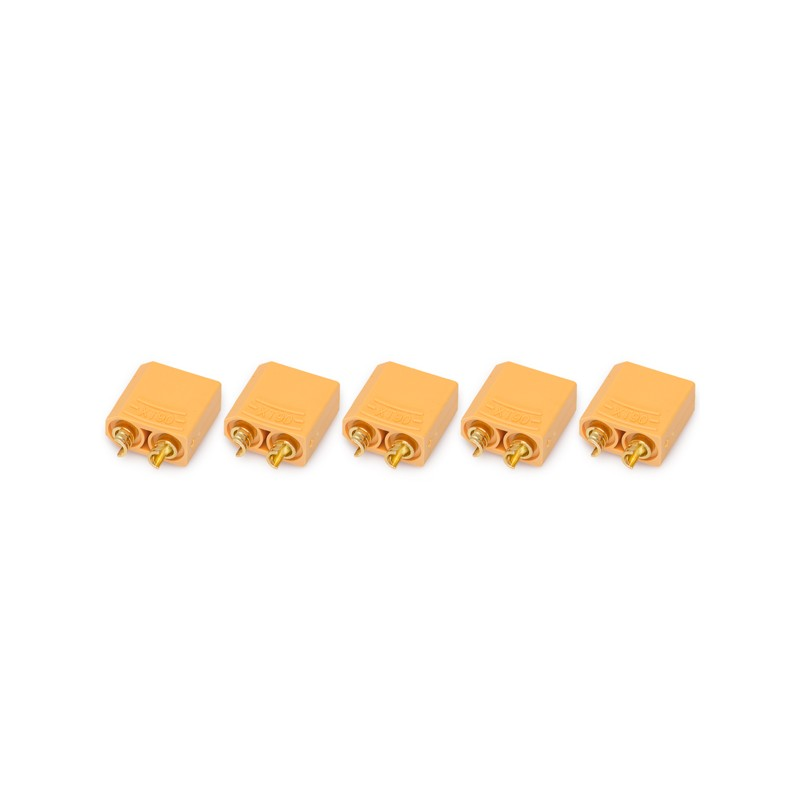 XT90 connector male (for ESC/Charger) 5 pieces
