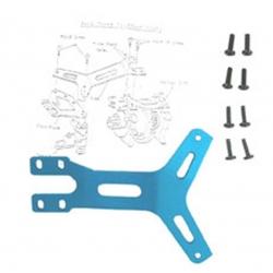 Renfort avant en Y anodise bleu GT-LX  /  GTP
