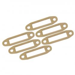 Joints d'échappement papier pour sortie latérale moteur 10-15 (6pcs)