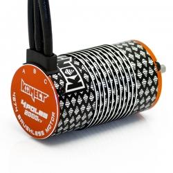 Moteur brushless 4 poles 1/8 4274 2000KV
