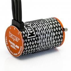 COMBO BRUSHLESS 1/8 100Amp WP + Moteur 4P. 4268 1900KV +carte de prog