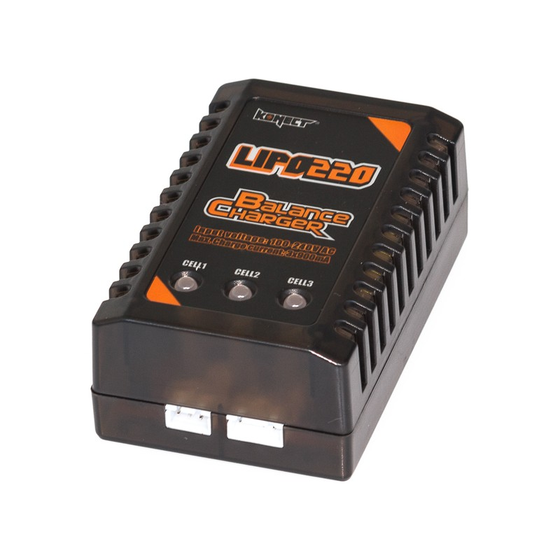 KONECT – LIPO CHARGER 2S-3S EU PLUG KN-LIPO220