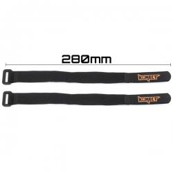 Strap pour accus LiPo 280 mm (2 pieces)