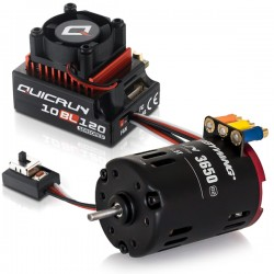 COMBO QUICRUN 10BL120-SD + MOTEUR G2 21.5T