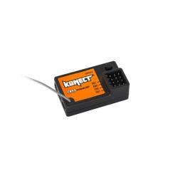 Récepteur 2.4ghz 2 voies pour radio Konect KT2S+