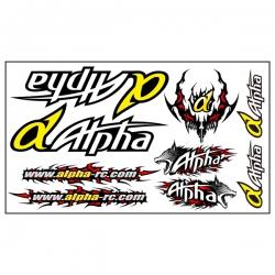 Autocollant Alpha Plus