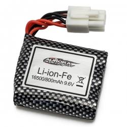 Batterie 9.6V 800mah pour MT12 prise blanche