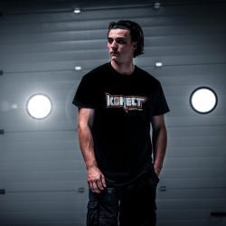 T-Shirt Konect Noir - Homme