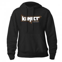 Sweat à capuche Konect Noir Unisexe