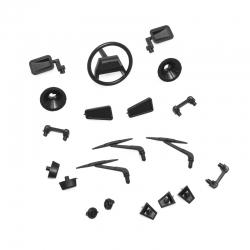 Kit accessoires plastiques carrosserie Raid