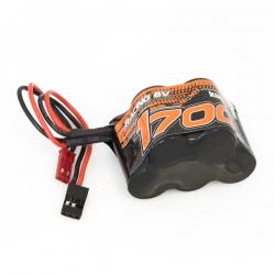 Pack de batterie HUMP 6V.1700mAh Ni-Mh soude Pyramide prise UNI